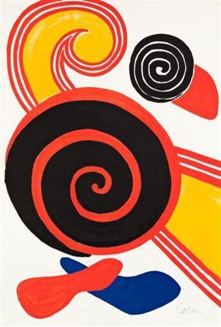 Alexander Calder, 'Spirals', 1969