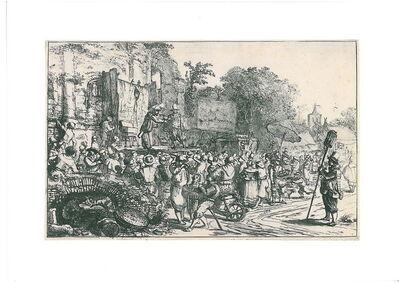 Constantijn Daniel van Renesse, 'Country-fair with charlatans', ca. 1650