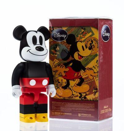 BE@RBRICK X Disney, 'Mickey Mouse 400%', 2009