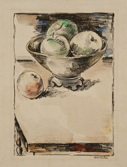 Max Weber, 'Apples', ca. 1928