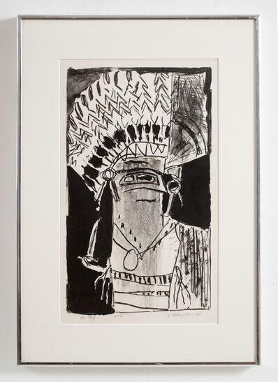 Roy Lichtenstein, 'The Chief', 1956