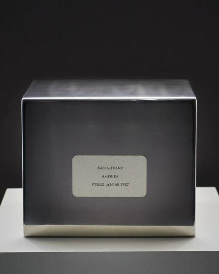 Lee Henderson, 'Refinement Pavilion #3 [Kafka, Franz - Amerika - PT2621. A26 A8 1927]', 2012