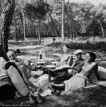 Lee Miller, '['Quintessential Lee Miller' boxed set] Picnic, Ile St Margueritte, Cannes, France ', 1937
