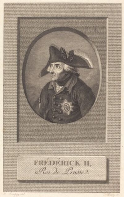 Nicolas Delaunay after Johann Heinrich Ramberg, 'Frederick the Great, King of Prussia'