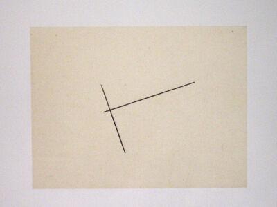 Fred Sandback, 'Etching with Aquatint', 1976