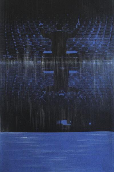 Omar Barquet, 'Monotone (After Y. Klein)', 2014