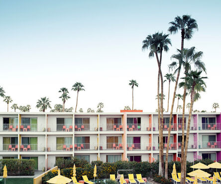 Ludwig Favre, 'Palm Springs Hotel', 2020