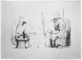 Pablo Picasso, 'LA PIENTRE ET SON MODELE', 1979-1982