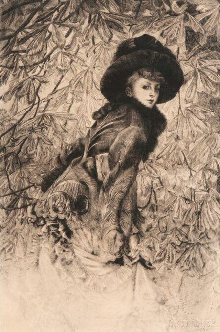 James Jacques-Joseph Tissot, 'Octobre', 1878