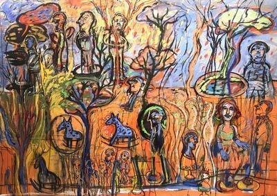 Liliana Golubinsky, 'Caballo de madera', 2020