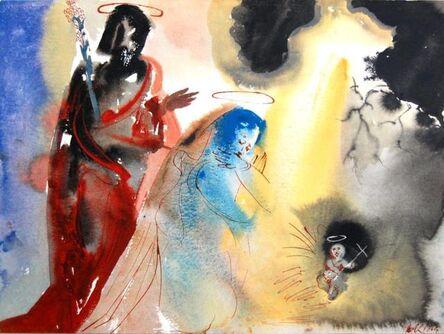 Salvador Dalí, 'The Birth Of Jesus', 1967