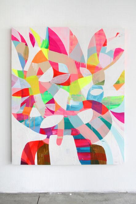 Maya Hayuk, ''Positive Space 13', 2014