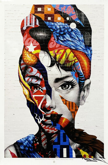 Tristan Eaton, ''Audrey of Mulberry'', 2019