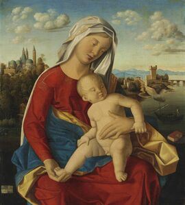 Bartolomeo Veneto, 'Madonna and Child', 1502