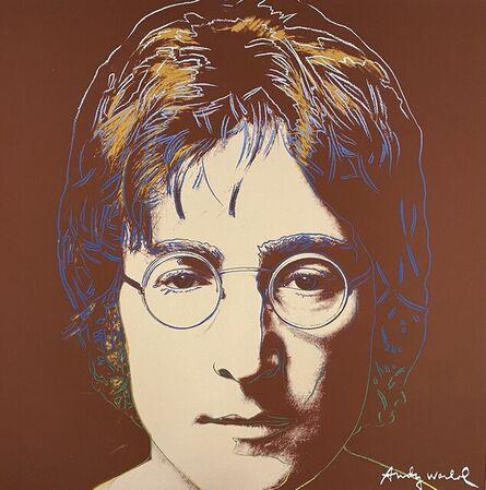 Andy Warhol, 'John Lennon', 1986