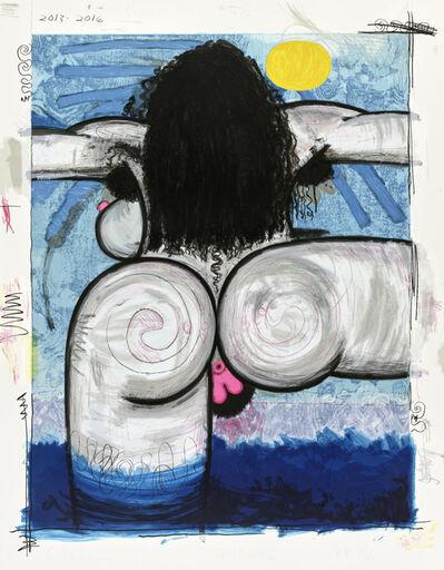 Carroll Dunham, 'Bather, from Bathers'
