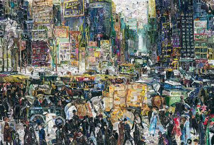 Vik Muniz, 'New York City, after George Bellows (Pictures of Magazines 2)', 2011