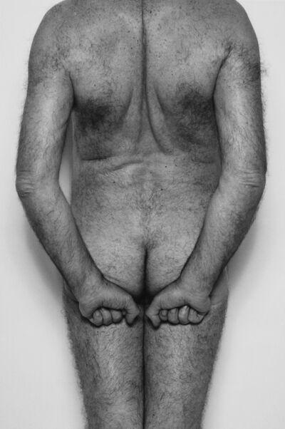 John Coplans, 'Vertical Back', 1985
