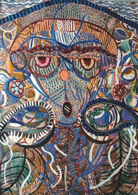 Pacita Abad, 'Red-eye mask', 1994