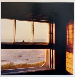 Peter C. Jones, 'The Little Window, Large Format Photo 24X20 Color Photograph Beach House RI', 1990-1999