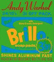 Andy Warhol, 'Brillo Pads - Pasadena Art Museum', 1970