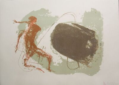 Benton Spruance, 'Man Against Monster'
