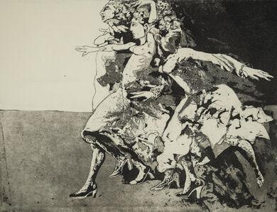 Ennio Calabria, 'Study – interior', 1980