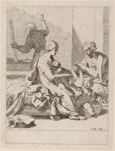 Elisabetta Sirani, 'The Holy Family with Saint Elizabeth and Saint John the Baptist', ca. 1650/1660