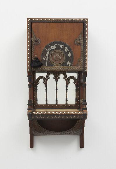 Carlo Bugatti, 'Wall-mounted cabinet', ca. 1900