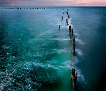 David Magee, 'Higgs Pier, Key West, Forida', 2014