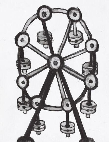 Camille Holvoet, 'Tinkertoy Ferris Wheel', 2012