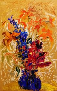 Mary Abbott, 'Savana', 1988