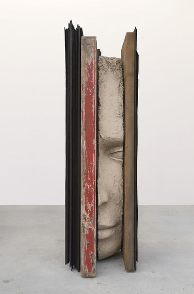 Mark Manders, 'Large Composition with Red', 2017