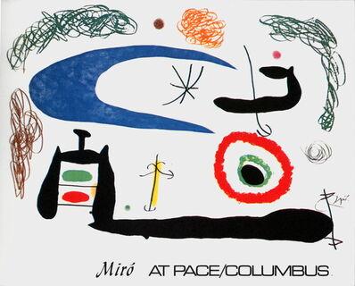 Joan Miró, 'Dormir sous la Lune', 1976