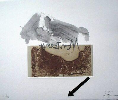Antoni Tàpies, 'Variacions sobre un rectangle 4', 2001