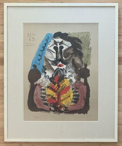Pablo Picasso, 'Portraits Imaginaires 27.4.69', 1969