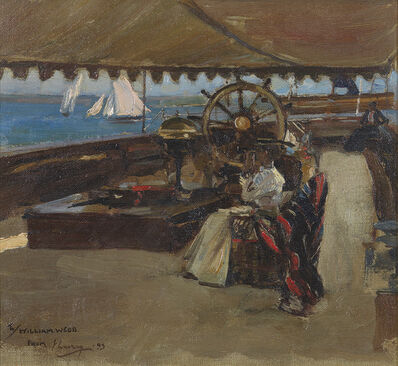 Sir John Lavery, 'On the Clyde', 1893