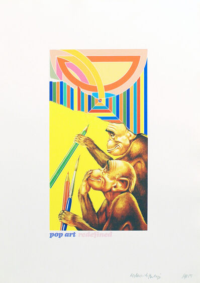 Eduardo Paolozzi, 'Pop Art Redefined', 1971