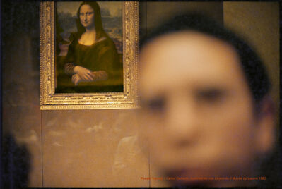 Carlos Gallardo, 'Pixel Terror, Autorretrato con Leonardo', 1982