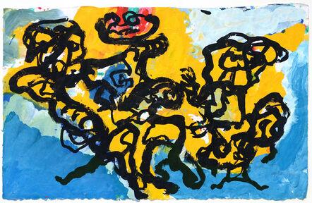 Karel Appel, 'landschappelijke mensen', 1994
