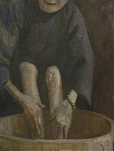 Wang Yin, 'Washing feet no.3', 2014