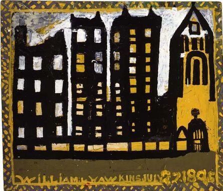 William Hawkins, 'Columbus Buildings', 1988
