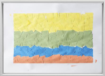 Rodrigo González Castellanos, 'Desgaste de la psicología del color, Optimismo', 2020