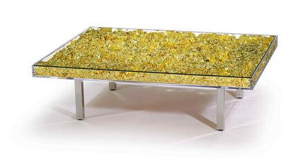 Yves Klein, 'Table 'Gold'', 1961