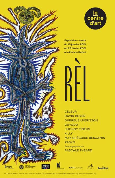 Max Benjamin Grégoire, 'Affiche Officiel RÈL', 2021