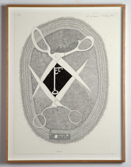 Del Kathryn Barton, 'but my dreams home', 2013