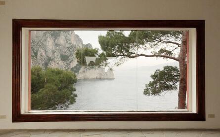 Peter Welz, 'casa malaparte [window 04]', 2014