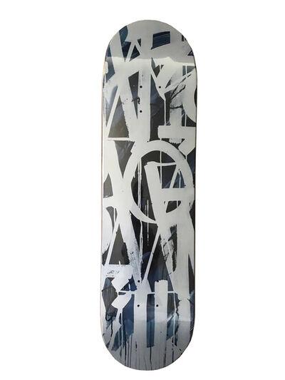 RETNA, 'Limited Edition Blue Skateboard ', 2018