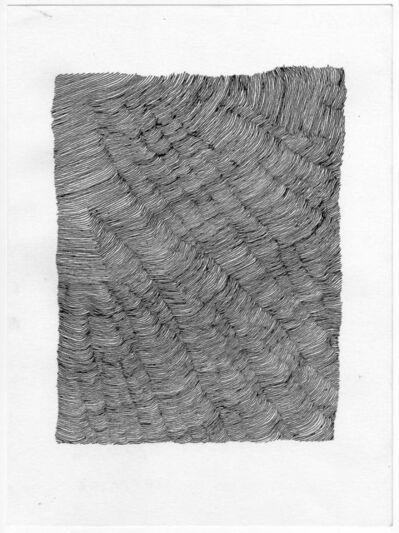 Carl Goldhagen, 'Attempt at Paralleling the first line 05/20/06', 2006