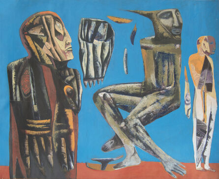 Miguel Huerta, 'The blue world of the seismic inhabitants', 2014